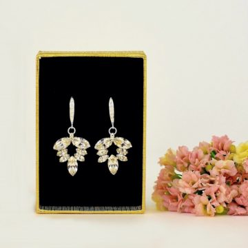 bridal dangle earrings 2