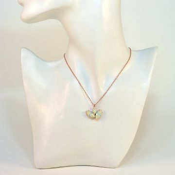 Rose gold necklace 2