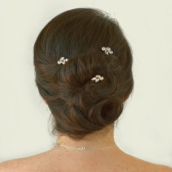 Crystal hair pins 1