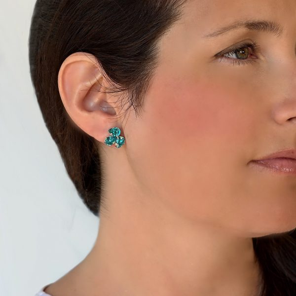 turquoise stud earrings 1