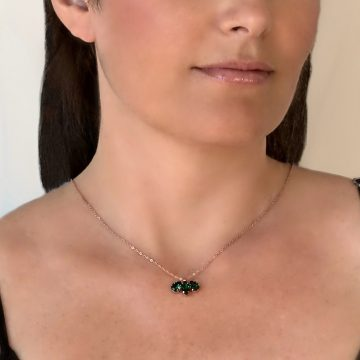 green pendant necklace 5