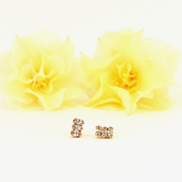 Tiny stud earrings1