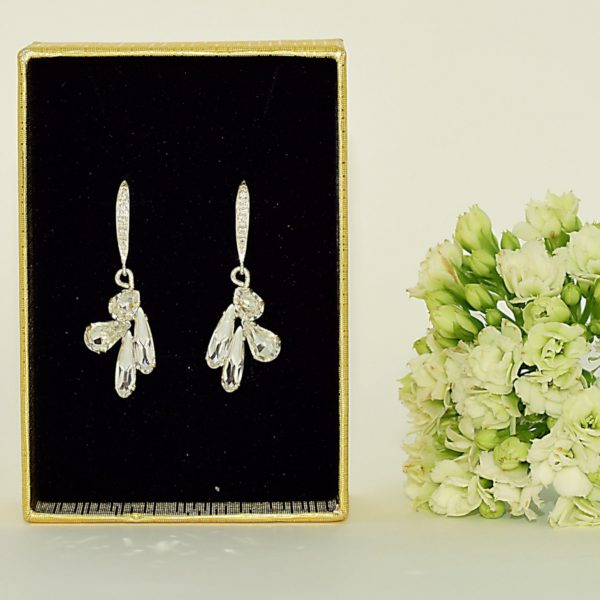 Dangle crystal earrings 1