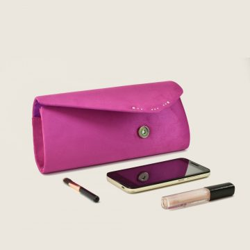 hot pink clutch bag 2
