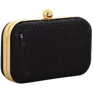 Gold and Black rigid clutch
