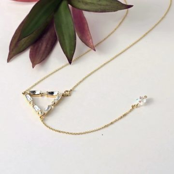 Triangle necklace 4