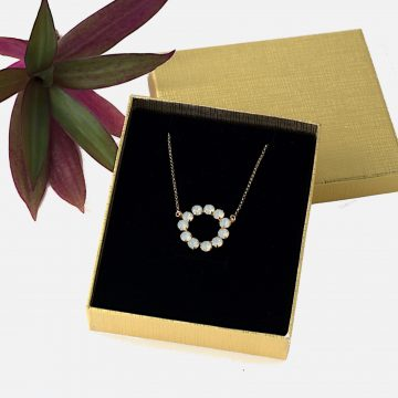 Circle necklace 2