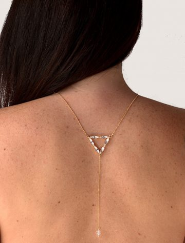 Triangle necklace 5