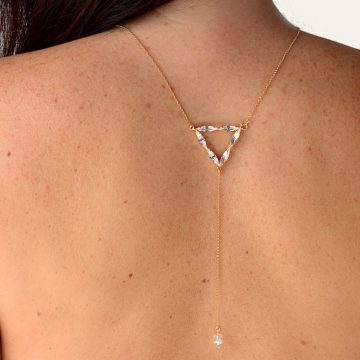 Triangle necklace 1