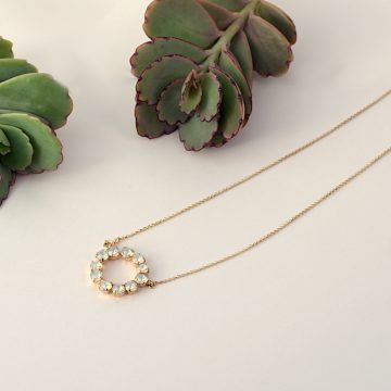 Circle necklace 5