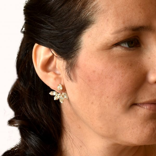 Wedding ear jacket earrings6