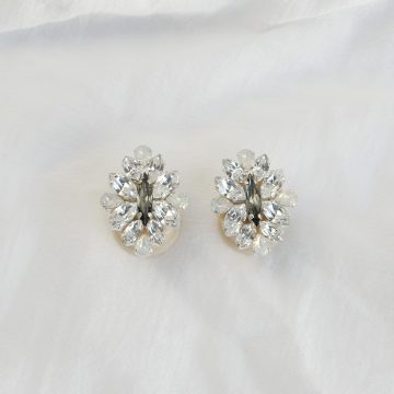 Wedding ear plug earrings 5