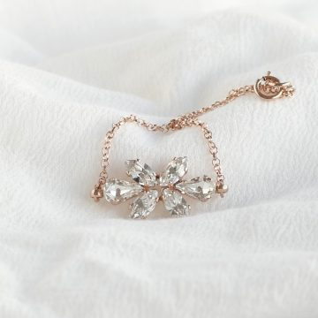 Bridal rose gold bracelet 4